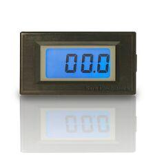 "3 1/2 Mini 0.5"" 3½ DC 200V Blue LCD Digital Volt Panel Meter 12V Voltmeter"