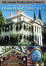 Disneyland Vintage DVD Haunted Mansion, Country Bears Vacation, Goofy Parade