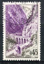 STAMP / TIMBRE  OBLITERE N° 1237 GORGES DE KERRATA EN ALGERIE