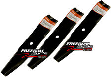 HONDA HT4213 HT 4213 CD4542 CD4213 LAWN TRACTOR MOWER BLADES 3 BLADE SET NEW!