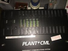 Plant CML 911 Emergency Communications System  852210-00301