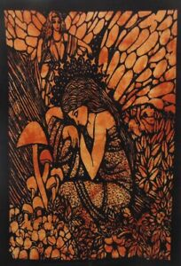 Tapestry Fairy Celtic Sleeping Angel Home Decor Wall Hanging Hippie Art Poster