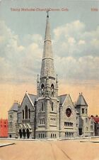 Denver Colorado~Trinity Methodist Church~Church Going Stats on Back~1908 PC