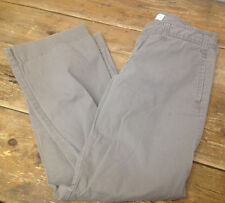 "Gap Trousers Favorite Trouser Khaki Tan Pant 5 Pockets 32"" Juniors Girls Pants"