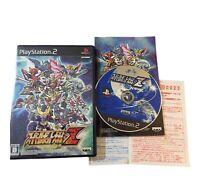 Super Robot Taisen Z Playstation 2 Japanese Import PS2 Japan Wars JP US Seller