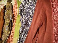 Womens Bundle of Clothes 10 12 16 Vintage Colourful Range Jeans dress cardigans