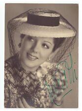 NIVES POLI ballerina scala regista foto cartolina signed autografata