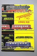 Fleischmann modello originale Ferroviario-Catalogo h0 1962/63 con DM-prezzi # 372