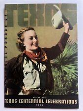 1936 Texas Centennial Exposition in Dallas Travel Brochure