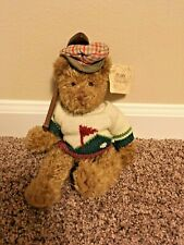 Bogey Jr plush bear, Russ, Bears from the past, golfing bear