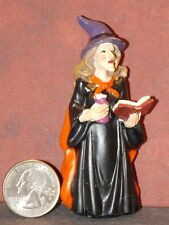 Dollhouse Miniature Halloween Witch Spellbook 3-1/4 inch tall F38 Dollys Gallery