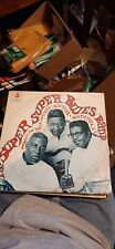"""Howlin Wolf, Muddy Waters Bo Diddley """"The Super Super Blues Band"""" Promo Blues LP"""