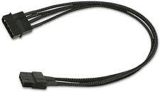 PQ480 Nanoxia 4-Pin Molex Extension, 30 cm, Single Sleeve Internal PC Cable