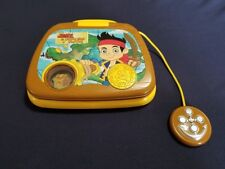 VTech Disney Jake and The Never Land Pirates Treasure Hunt Learning Laptop EUC