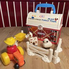 Fisher Price Bauernhof 🐄Mattel 2008 Play Family Farm Bauernhof Trage-Koffer💙🌸