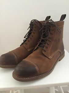 Timberland leather side-zip boots