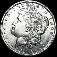 1891-O Morgan Dollar Silver   ---- GEM BU+  ---- #L411