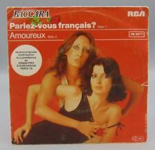 Baccara Parlez-vous Francais/Amoureux 45 RPM PB 5577 RCA Victor Records