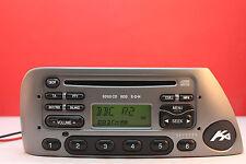 FORD KA 6000 CD RADIO PLAYER STEREO CODE 2000 2001 2002 2003 2004 2005 2006 2007