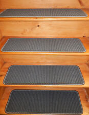14 Step 9'' x 30'' + Landing 30'' x 30'' In/Outdoor Stair Treads Non-Slip Vinyl