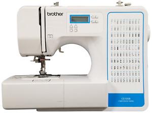 Brother CE1008 Computerized Sewing Machine (100 Stitch) White F6854