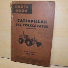 Cat Caterpillar 922 Wheel Loader Parts Manual Book 59a Series Catalog Front End