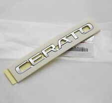 Genuine Cerato Lettering Trunk EMBLEM Badge 1Pcs For KIA Cerato Forte 2009 2017