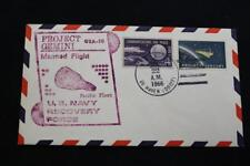 NAVAL SPACE COVER 1966 GEMINI GTA-10 RECOVERY SHIP USS DE HAVEN (DD-727) (3336)