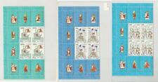 Vatican City, Postage Stamp, #803-5 Blocks Labels Mint NH, 1987 (p) Christmas