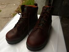 New in Box--Sz.11--Rockport Work Men's RK6640 Work Boot, Brown Leather