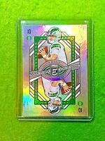 JUSTIN HERBERT SILVER PRIZM ROOKIE CARD CHARGERS SP RC 2020 Elite ROOKIE ON DECK