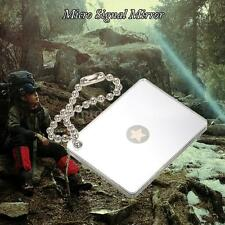 Outdoor Micro Star Signal Mirror Survival Emergency Rescue Signaling Device B4M1