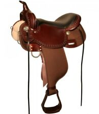 "High Horse Circle Y 16"" Willow Springs Cordura Trail Saddle Brown Wide #6913 NEW"