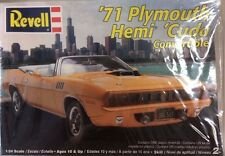 1/24 Revell '71 Plymouth Hemi 'Cuda Convertible Model Kit Factory Sealed