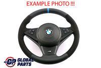 BMW 5 6 Series E60 E63 NEW Leather Alcantara M-Sport Steering Wheel M-threads