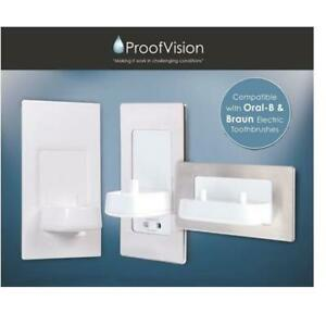 In-wall Electric Toothbrush Charger & Shaver Socket by Proofvision Oral B/Braun