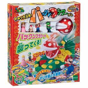 Super Mario Piranha Plant Bite Game Family Board Game 6+ Epoch