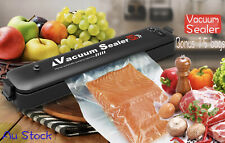 Automatic Vacuum Sealer Food Packing Machine with Vacuum Food Bags New Au Stock