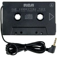 RCA AH600N Cassette Tape Adapter for CD/XM/IPOD/MP3 Audio to Car Stereo Deck