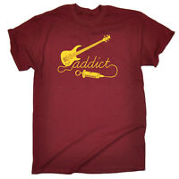 Music Band T-Shirt Funny Novelty Mens tee TShirt - Bass Addict