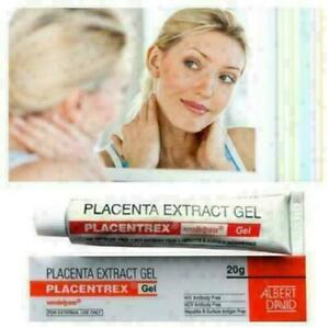 2 Tubes PLACENTA EXTRACT GEL 20g Placentrex Gel Albert David