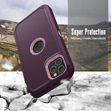 For iPhone 11 / Pro / Max XR XS X Cover Protective Hybrid Rugged Shockproof Case
