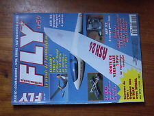 $$1 Revue Fly International N°50 Plan encarte Cessna electrique  True Fly