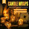 12/24/50Pcs Paper Tea Light Candle Holder Set Votive Wedding Home Decor 4 Colors
