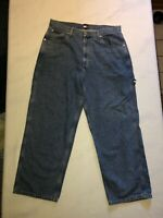 Vintage Tommy Hilfiger Carpenter Blue Jeans Men's Size 36/30 Hammer Loop