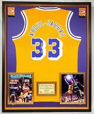 ca1692e2a Premium Framed Kareem Abdul-Jabbar Signed Los Angeles Lakers Adidas Jersey  - JSA