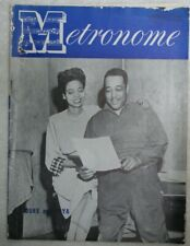Vintage Metronome Music Magazine November 1949 Duke and Joya