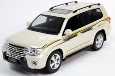 R/C 1/14 Radio Control Truck TOYOTA LAND CRUISER Lexus Lx W/ LED Lights White