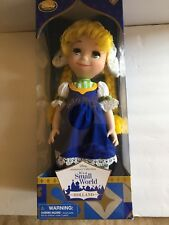"Disney It's A Small World HOLLAND Singing 16"" Doll Animator Collection Retired"