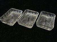 3 X Glas Bowl - Grind Decor - around 1950/60 - Vintage